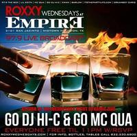 EMPIRE WEDNESDAYS FREE BEFORE 11PM