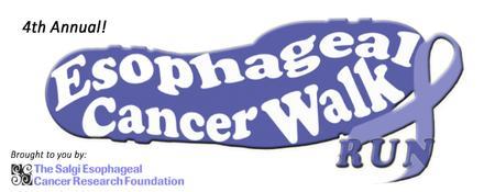 4th Annual Esophageal Cancer Walk/Run
