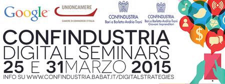 Confindustria Digital Seminars