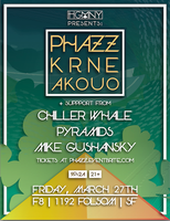 HGMNY Presents | PHAZZ w/ KRNE, Akouo + more