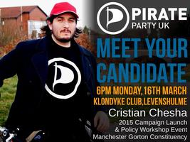Meet Your Candidate - Pirate Party Manchester Gorton