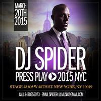 DJ SPIDER PRESS PLAY / PISCES PARADE