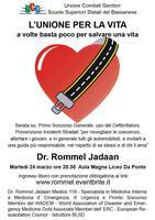 L'unione per la vita con il Dr. Rommel Jadaan