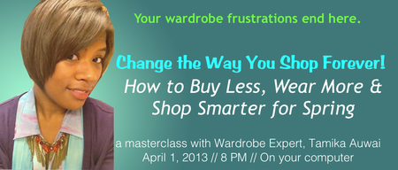 FREE Wardrobe Masterclass: Buy Less, Wear More & Shop...