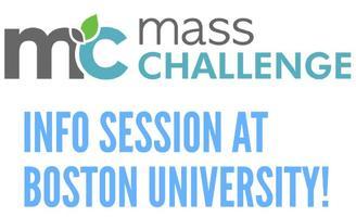 MassChallenge Info Session at Boston University