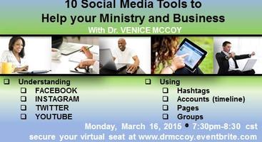 """""""Social Media Tools For Ministry & Business"""" with Dr...."""
