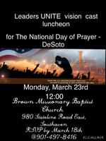 Leaders Unite Vision Casting Luncheon for the National...