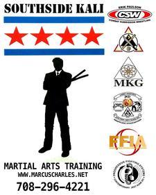 Marcus Charles SOUTHSIDE KALI JKD Chicago  logo