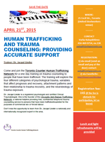 HUMAN TRAFFICKING AND TRAUMA COUNSELING: PROVIDING...