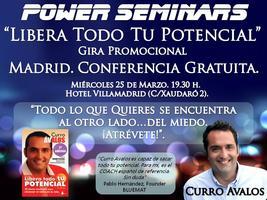 """Seminario """"Libera Todo Tu Potencial""""."""