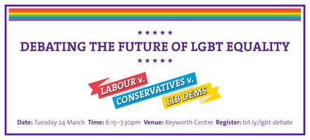 Debating the Future - Election 2015 and the LGBT+...