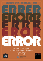 ERROR: group exhibition opening