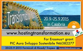 Transformation Hosting Event Calabria
