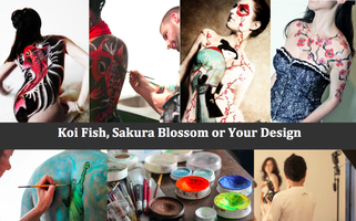 """Art on Live Canvas™"" Bodypainting Class for 2"