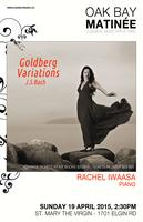 Oak Bay Matinée: Rachel Iwaasa performing Bach's...