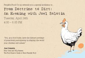 From Doctrine to Dirt: An Evening with Joel Salatin