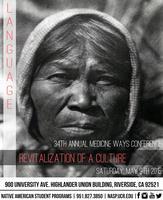 34th Annual Medicine Ways Conference