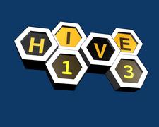 HIVE13 - Cincinnati's MakerSpace logo