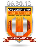 Live Ultimate RUN San Francisco Quarter Marathon and 5K...