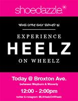 ShoeDazzle Heelz on Wheelz is here! Sat 3/9 12-2pm