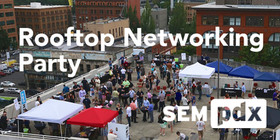 2015 SEMpdx Rooftop Networking Party