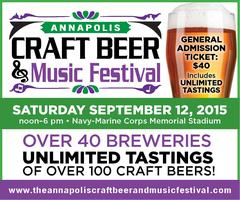 The Annapolis Craft Beer & Music Festival