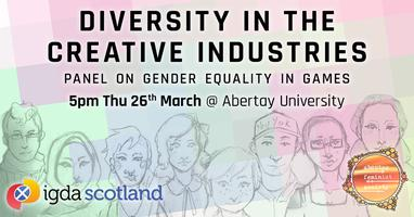Diversity in the Creative Industries Panel