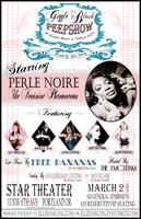 Giggle & Blush Peepshow - Starring Perle Noire