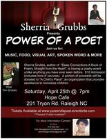 Sherria Grubbs Presents Power of a Poet