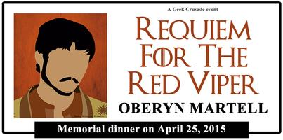 Requiem for the Red Viper: A Game of Thrones inspired...