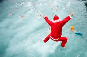 2016 SWIM WITH SANTA - FREE with Donation of 1...