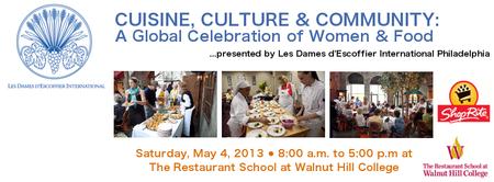 CUISINE, CULTURE & COMMUNITY:  A Global Celebration of...