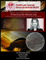 McGill Law Journal Annual Lecture / Conférence...
