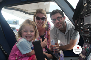 Visit Santa Monica Airport To Sit in a Real Plane