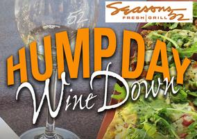 Socializing, Wine and Food at HUMP Day WINE Down