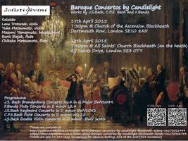 Solisti Divini Baroque Concertos by Candlelight @...
