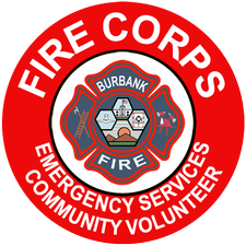 Burbank Fire Dept & Burbank Fire Corps Program logo