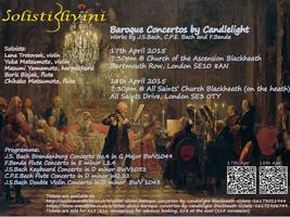 Solisti Divini Baroque Concertos by Candlelight @...