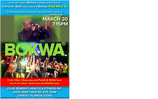 Bokwa MasterClass with Kwaito Taster