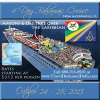 The Masons & OES Takeover - 4 Day Bahamas Cruise 2013