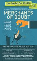Merchants of Doubt Charity Screening with Special Guest...