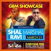GBM SHOWCASE @ CARIBBEAN SATURDAYS W/ SHALL MARSHALL &...