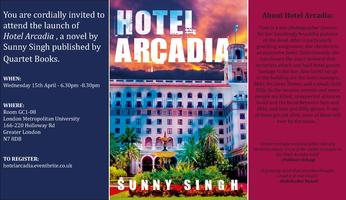 'Hotel Arcadia' Book Launch