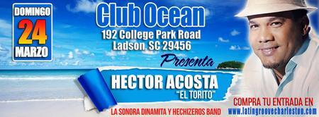 """Hector Acosta """" El Torito"""" en VIVO !!"""