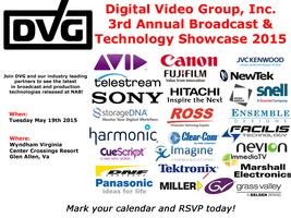 3rd Annual Broadcast & Production Technology Show