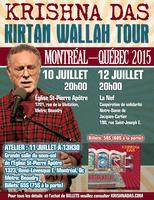 Montreal: Kirtan with Krishna Das: Kirtan Wallah Tour...