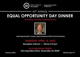 43rd Annual Urban League Equal Opportunity Day Dinner