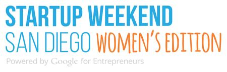 Startup Weekend San Diego: Women's Edition, May 1 - 3