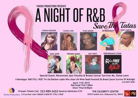A Night of RnB - Save The Tatas