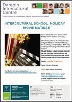 Intercultural School Holiday Movie Matinee